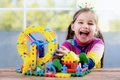 Child Playing With Toys Royalty Free Stock Photo - 85464135