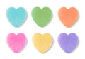 Blank Candy Valentines Hearts Royalty Free Stock Image - 85480266