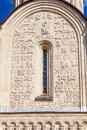 Stone Carving On The Walls Of Saint Demetrius Cathedral, Vladimi Royalty Free Stock Photo - 85550395