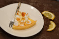 Lemon Meringue Pie Royalty Free Stock Image - 85576896