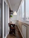 Interior Of Balcony Royalty Free Stock Images - 85579989