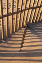 Beach Fence Royalty Free Stock Photography - 8565237