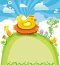 Easter Greeting Card Royalty Free Stock Images - 8567009