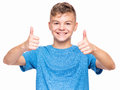 Emotional Portrait Of Teen Boy Royalty Free Stock Photos - 85611888