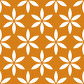 Seamless Pattern With Simple Floral, Flower Motif Royalty Free Stock Photos - 85641968