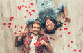 Happy Young Couple Stock Images - 85649574