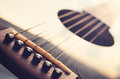 Acoustic Guitar Close Up Stock Image - 85657791