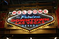Welcome To Fabulous Downtown Las Vegas Sign At Fremont Street Royalty Free Stock Photography - 85666037