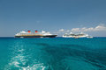 Two Cruise Ships In Harbor Royalty Free Stock Photo - 85673035