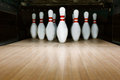 Ten Pin Bowling Alley Background Royalty Free Stock Photo - 85684745