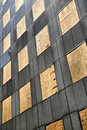 All Windows Boarded Up Royalty Free Stock Image - 8579916