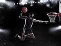 Basket Player Throws The Ball At The Stadium Stock Images - 85733614
