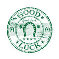 Good Luck Rubber Stamp Stock Photography - 8581312