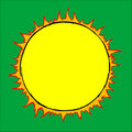 Drawn Sun Stock Photography - 8586402
