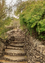 Limestone Staircase Stock Photography - 85811032