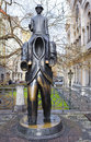The Monument To Writer Franz Kafka In Prague Royalty Free Stock Image - 85814846