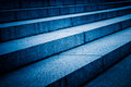Detail Shot Of Stairs In Blue Tone Royalty Free Stock Photos - 85826878
