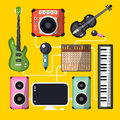 Musical Instruments Royalty Free Stock Image - 85839826