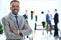 Portrait Of Smiling African American Business Man Stock Images - 85858474