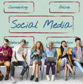 Social Media Communication Share Connect Concept Stock Photo - 85876270