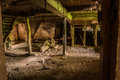 Old Basement In An Abandoned Mill Royalty Free Stock Images - 85892609