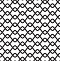 Black-and-white Seamless Pattern Royalty Free Stock Image - 8591106