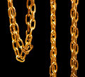 Gold Chain Royalty Free Stock Images - 8593739
