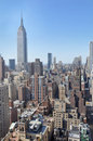 Mid-town Manhattan Cityscape Royalty Free Stock Photo - 8598575