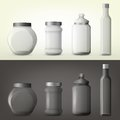 Jar Or Glass Bottles For Spice Or Seasoning Stock Photography - 85904342