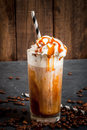 Cold Coffee Drink Frappe Frappuccino Stock Image - 85923961