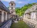 Palenque Ruins, Palace And Observation Tower, Chiapas, Mexico Stock Photos - 85957563