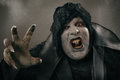 Ancient Horror Mutant Vampire With Large Scary Nails. Medieval F Stock Image - 85966201