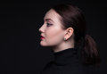 Portrait Of Woman In Profile Stock Images - 85974594