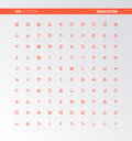 UI UX Education Assets Icons Stock Images - 85985794