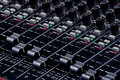 Sound Mixing Faders Royalty Free Stock Image - 868726