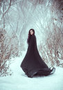The Girl A Demon Walks Alone Royalty Free Stock Images - 86004859