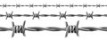 Barbed Wire Seamless, Vector Royalty Free Stock Images - 86029449