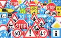 Traffic Signs Stock Photos - 86046293