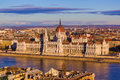Parliament In Budapest Hungary Royalty Free Stock Images - 86076329