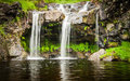 A Waterfall At The Fairy Pools On The Isle Of Skye In Scotland Royalty Free Stock Photography - 86080647
