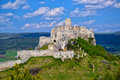Ancient Ruin Of Spis Castle, Slovakia At Summer Sunshine Day Royalty Free Stock Photo - 86081495