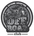 Off-road Car Logo, Mud Terrain Suv, Expedition Offroader. Stock Photo - 86104340