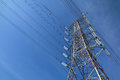 Grid Electricity Tower - Series 5 Royalty Free Stock Photography - 86138577