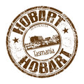 Hobart Grunge Rubber Stamp Royalty Free Stock Images - 86159189