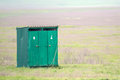 Outhouse In Summer Countryside Royalty Free Stock Photo - 86196135
