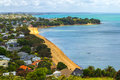 Cheltenham Beach View From North Head Auckland New Zealand Royalty Free Stock Images - 86198269