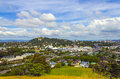 City And Urban Landscape View From Mt Hobson Auckland New Zealand Stock Image - 86198341