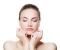 Healthy Woman With Clear Skin Royalty Free Stock Photo - 86222945