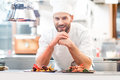 Chef Cook At The Kitchen Stock Images - 86223074