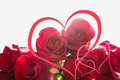 Hearts And Roses Royalty Free Stock Image - 86283086